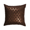 The Cushion Project Set of 2  sequins Brown Cushion Covers