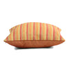 The Cushion Project Set of 3 Stripe & Quilted Orange Cushion Covers