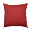 "Rustic/ Cranberry: silk cushion cover (16"" x 16"")"