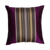 "Rhine/ Gold Thread: Silk woven cushion cover (16"" x 16"")"