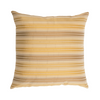 "Ganges/ Riviera Sand: Silk woven cushion cover (16"" x 16"")"