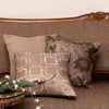 The Cushion Project Set of 3 Quilt &  handwoven linen neutral Cushion Covers