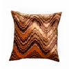 The Cushion Project Set of 3 Shine and matt Orange Rust Cushion Covers