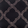 "Grill/ Ebony : Embroidered and quilted cushion cover (20"" x 20"")"