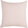 "Grill/ Blush : Embroidered and quilted cushion cover (20"" x 20"")"