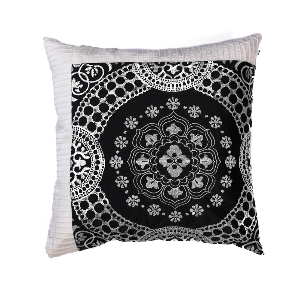 The Cushion Project Set of 2  Black and White Cushion Covers
