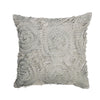 The Cushion Project Set of 2 Frills Black & Light Grey Cushion Covers