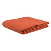 Orange Embroidered cotton Designer Bed Cover / Onset Designs
