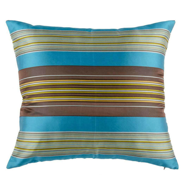 Blue Silk Designer Cushion Cover | Onset Designs