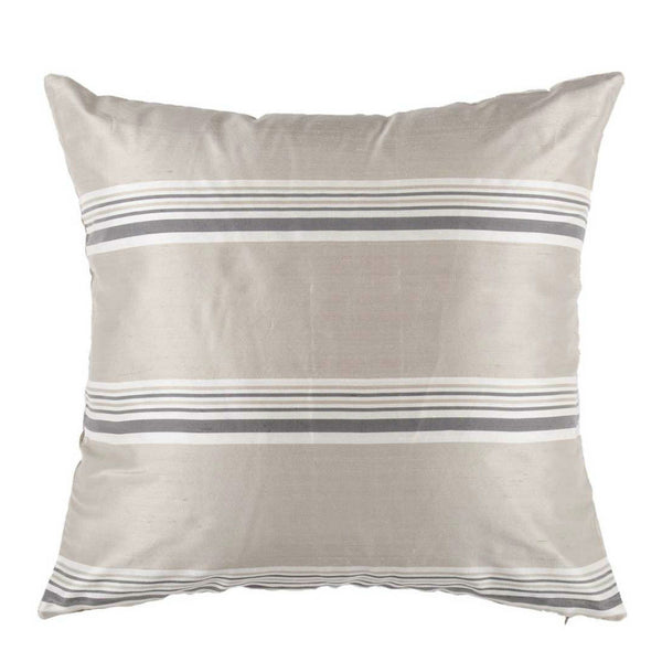 Grey Silk Designer Cushion Cover | Onset Designs