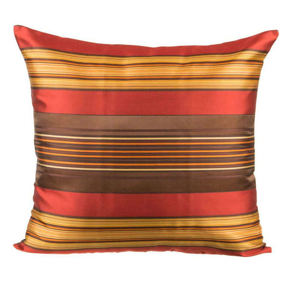 Red Silk Designer Cushion Cover | Onset Designs