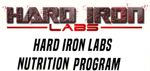 Hard iron labs nutrition program