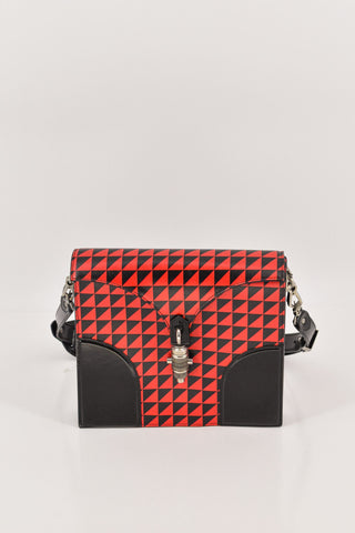 Stella McCartney Cavendish Mini Boston Python Bag