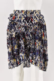 Isabel Marant Midnight Printed Patchwork Poyle Skirt size 36