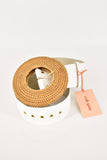 Cult Gai White Rattan Circle Belt XS/S