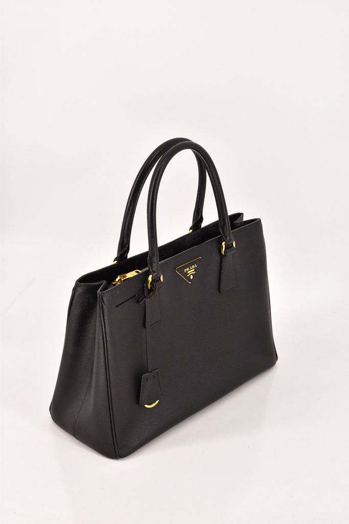 Prada Black Saffino Bag