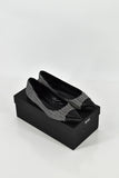 BOSS Hugo Boss Plica Black & White Flats size 38