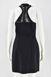 Dion Lee Black Cut Out Scuba Sleeveless Dress size AUS 10