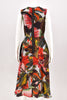 Erdem Red Mackenzie Dress size 8
