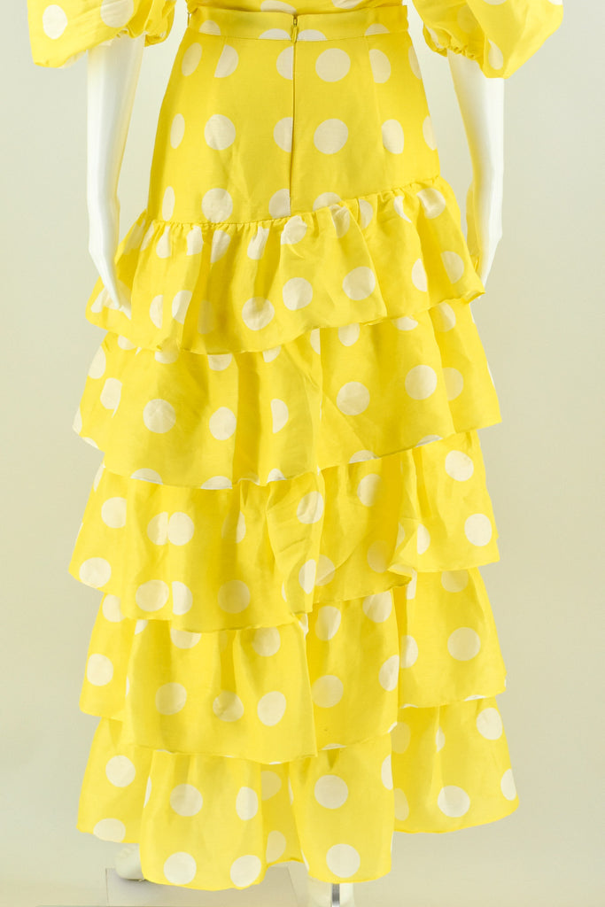 Torannce Yellow Can't Spot Me Skirt size 8