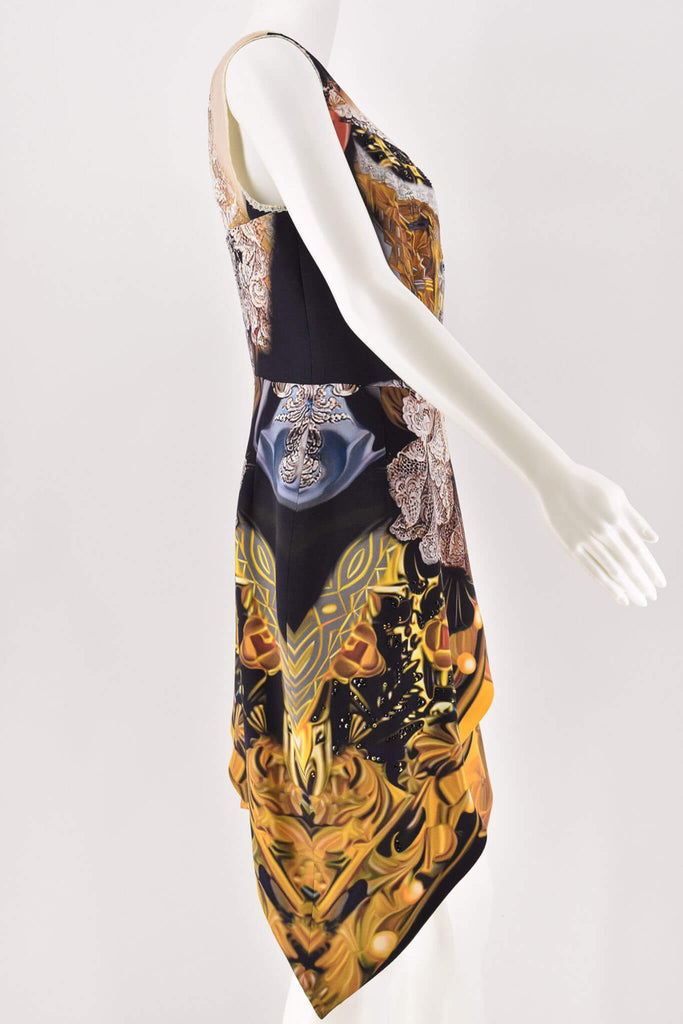 Mary Katrantzou Beaded Sleeveless Dress size 12
