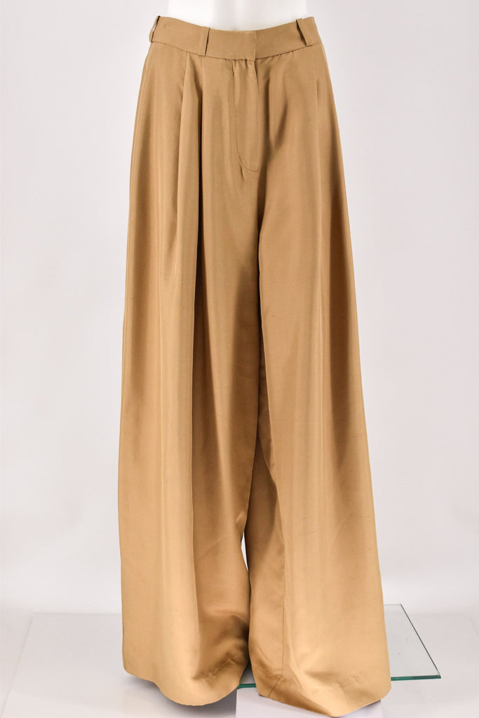 Zimmerman Unbridled Wide Leg Brown Pant Size 1