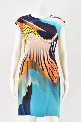 Christopher Kane Black Rainbow Dress size 12