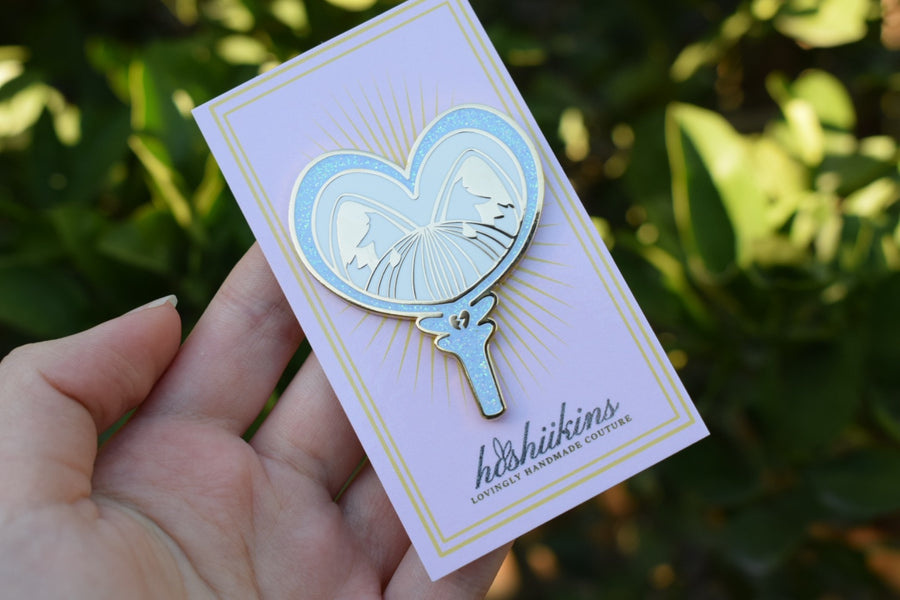 "Love at First Sight 2"" Enamel Pin"