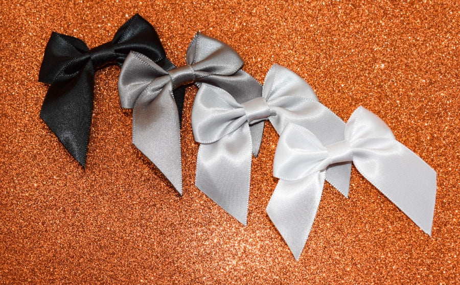 Petite Bows - Monochrome Collection