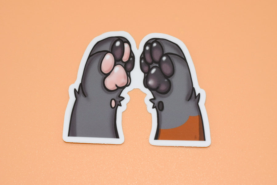 From The Vault: Grabby Paw Stickers