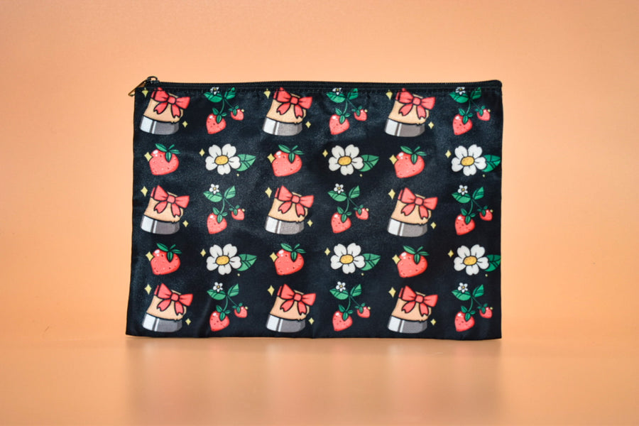 From the Vault: Hooves & Strawberries Pouch
