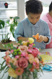Father & Son Flower Arranging and Gift-Card Making Workshop <BR> 5 May 2018