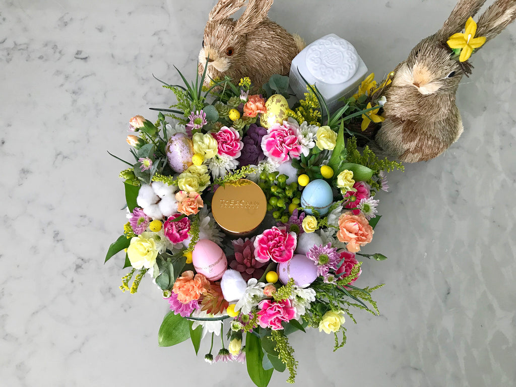 Easter Floral Wreath and Candle Making with TO BE CALM FRAGRANCES <BR> March 2018