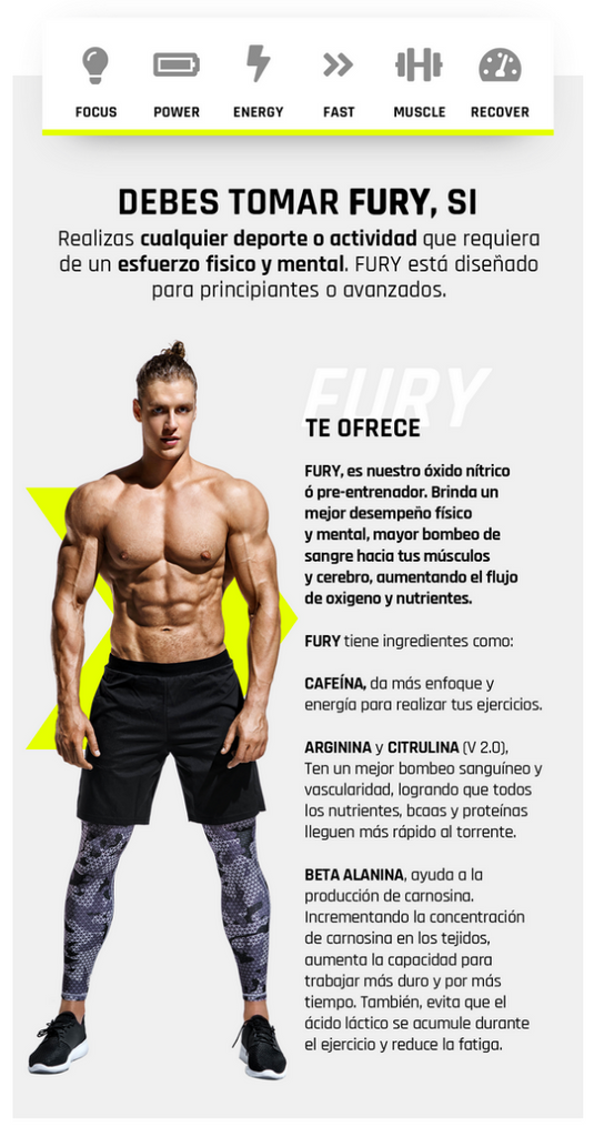 Fury | Muscle Fit | Fitness Depot
