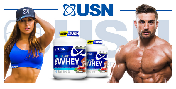 USN 100% whey protein | Fitness Depot
