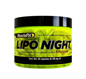 Lipo night | Musclefit | 90caps - Suplementos Deportivos