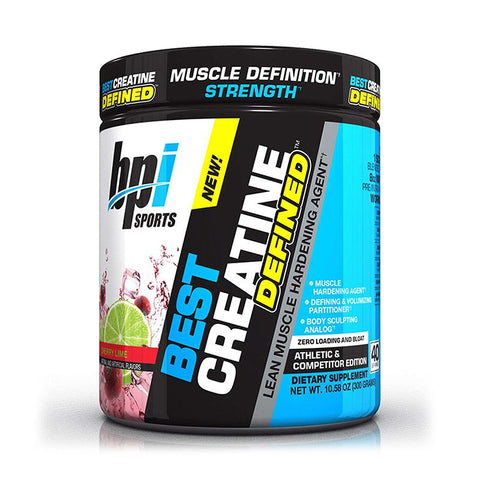 Best Creatine Defined | BPI | 40serv - Suplementos Deportivos