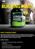 Serious Mass | Optimum Nutrition | 12lb - Suplementos Deportivos