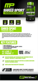 Shred sport | Musclepharm | 60caps - Suplementos Deportivos