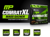 Combat XL Mass Gainer | Musclepharm | 12lb - Suplementos Deportivos