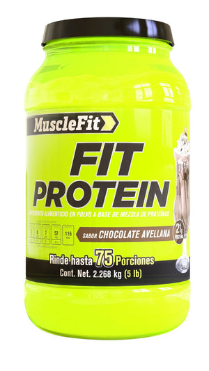FIT protein | MuscleFit | 5lb - Suplementos Deportivos