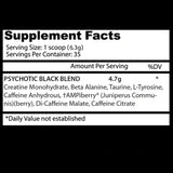 Psychotic Black | Insane Labz | 220gr
