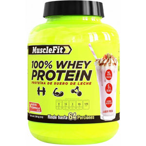 100% Whey Protein | MuscleFit | 3.5lb - Suplementos Deportivos