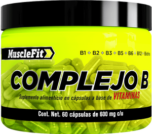Complejo B | Muscle fit | 60caps