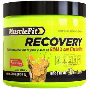 Recovery BCAA | MuscleFit | 40serv - Suplementos Deportivos