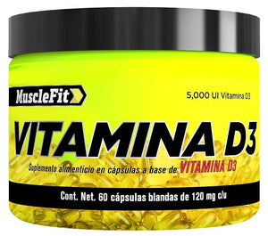 Vitamina D | Muscle fit | 60caps