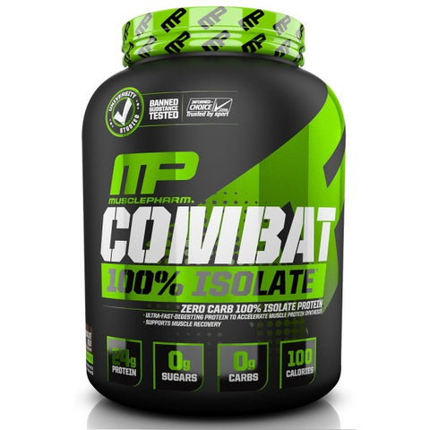Combat 100% Isolate | Musclepharm | 5lb - Suplementos Deportivos