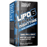 Lipo 6 Black Night time | Nutrex | 30 caps