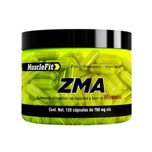 ZMA | Muscle fit | 120caps - Suplementos Deportivos