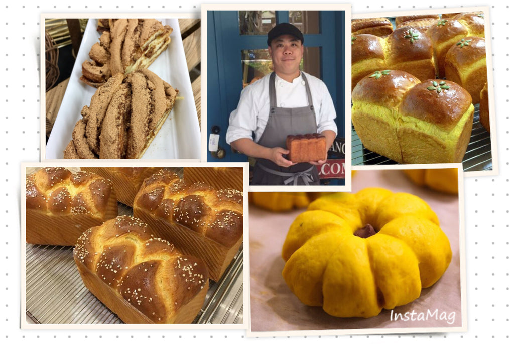 CLASS (Oct 27, 2017) : EUROPEAN & JAPANESE BREAD SELECTION (TAIWAN CHEF CHEN CHIH-FENG)